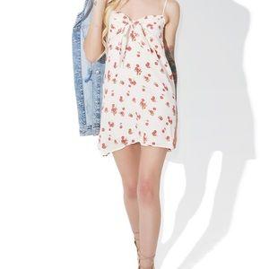 For love and lemons cherry mini dress